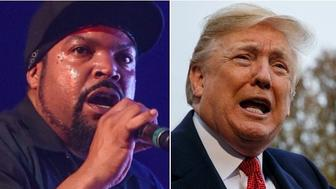 Ice Cube and Donald Trump