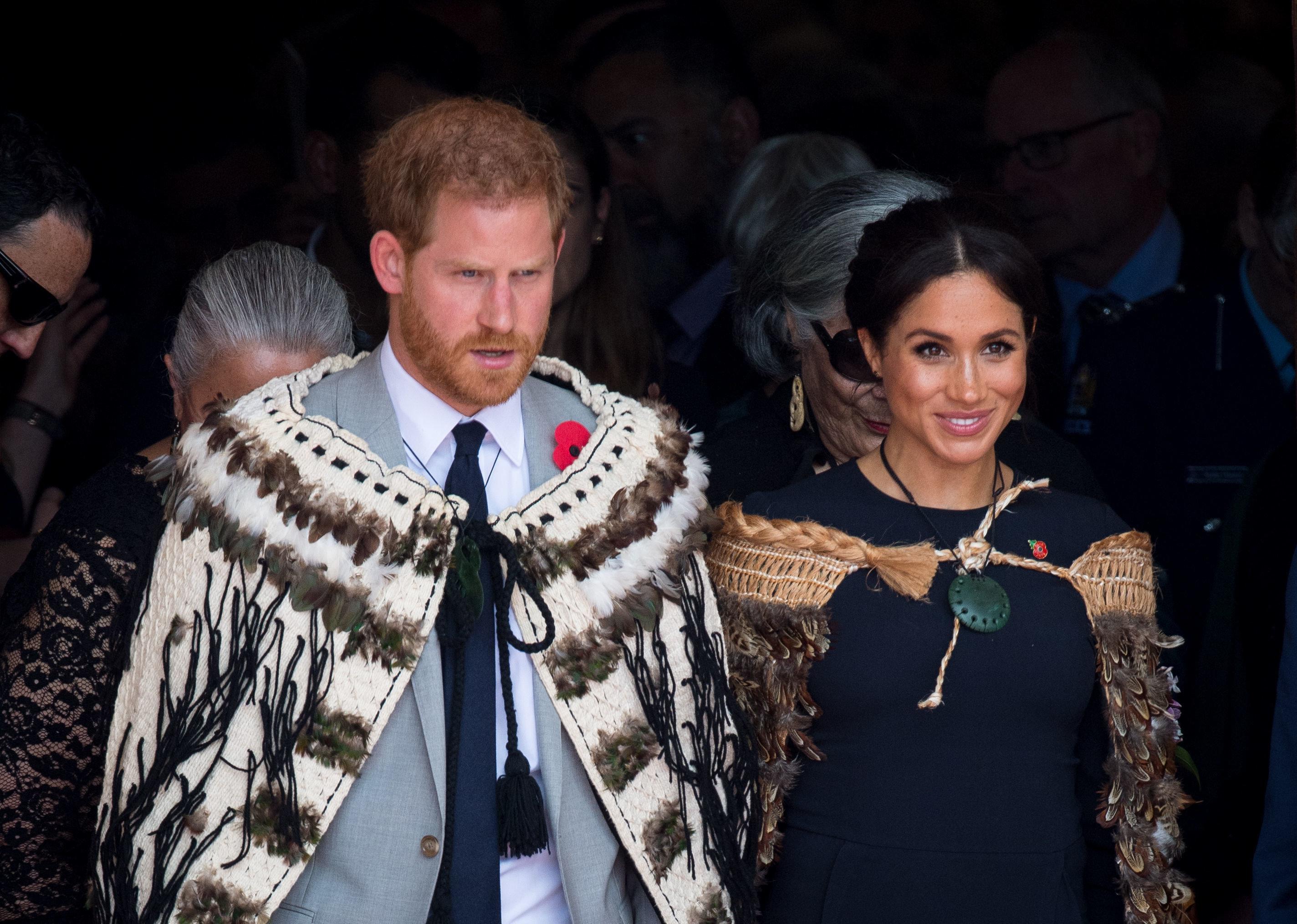Experte: Das sagt Herzogin Meghans Körpersprache über ihre Liebe zu Prinz