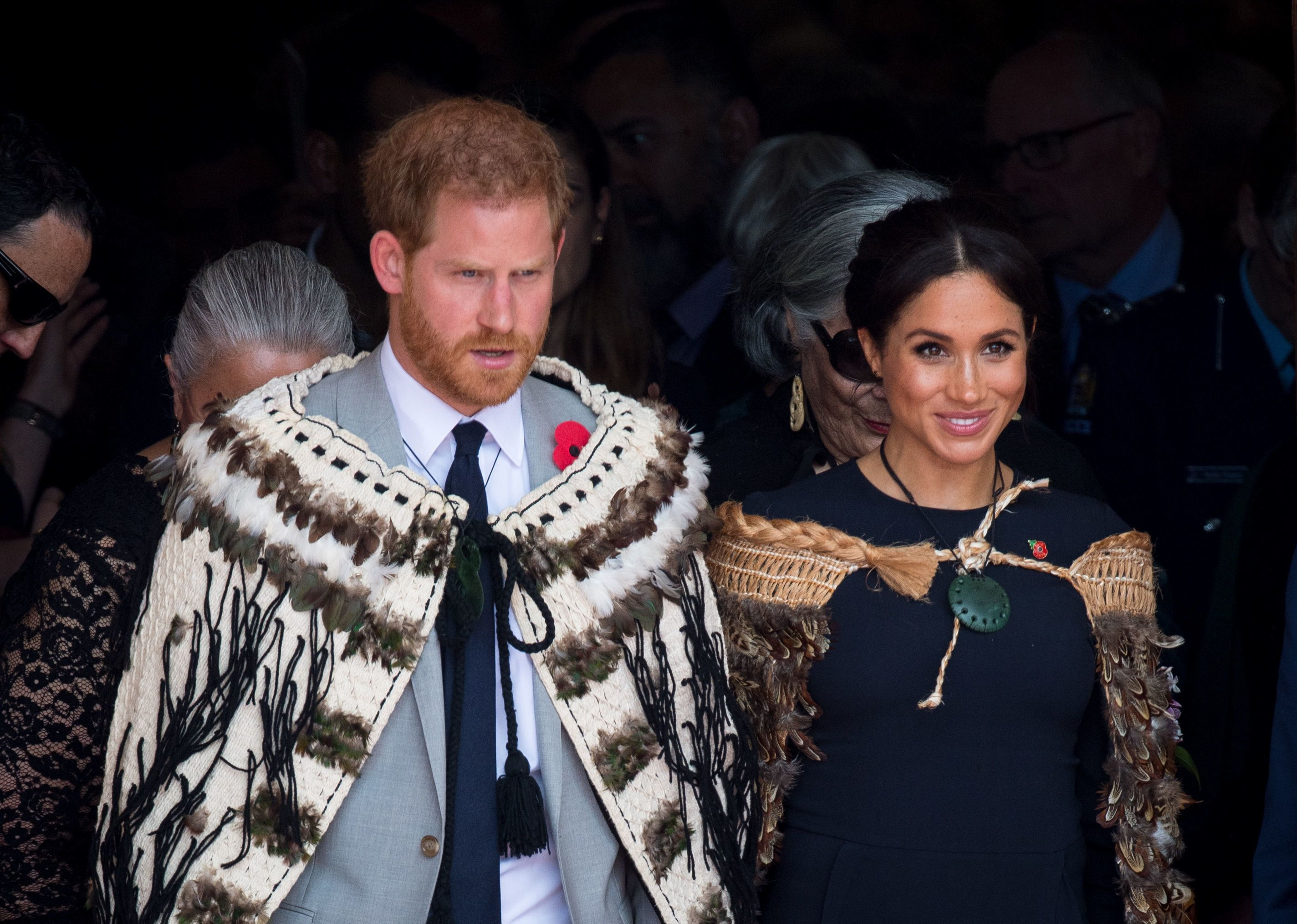 Prinz Harry und Herzogin Meghan bei ihrem Besuch in