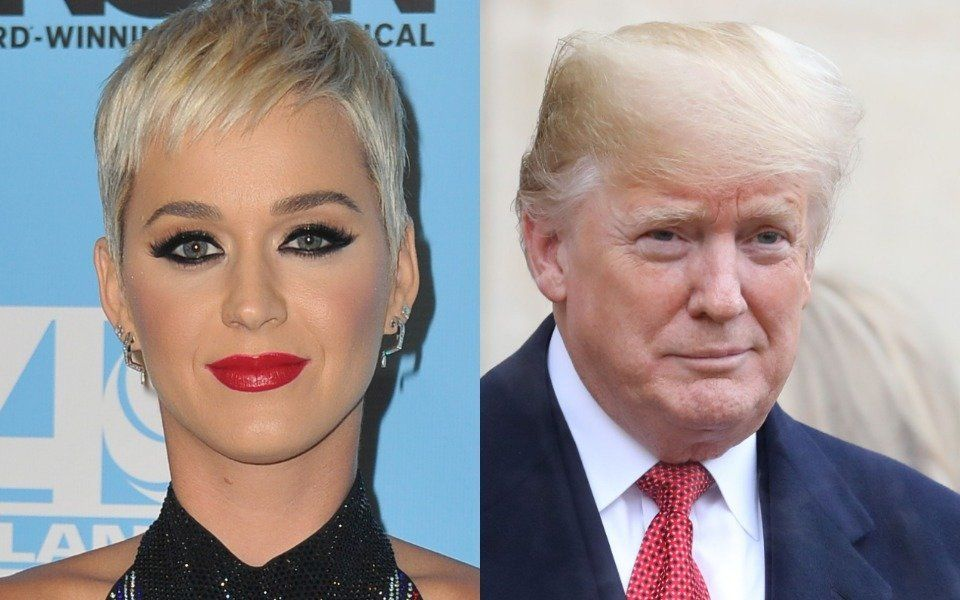 Katy Perry and Donald Trump