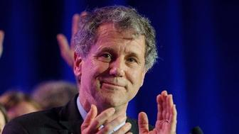 Senator Sherrod Brown's resounding re-election in swing state Ohio has marked him as a Democrat to watch in 2020 (AFP Photo/JEFF SWENSEN)