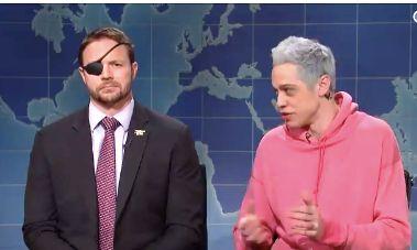 Dan Crenshaw on Weekend Update on SNL