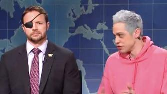 Dan Crenshaw on Weekend Update on SNL