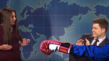 'SNL' Torques Intern Video In Dead-On Spoof Of Jim Acosta Tangle