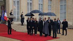Le roi Mohammed VI reçu par Macron à l'Elysée pour les célébrations du 11