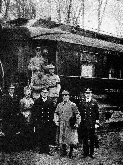 Ανακωχή της Κομπιέν (1918)Ηανακωχή...