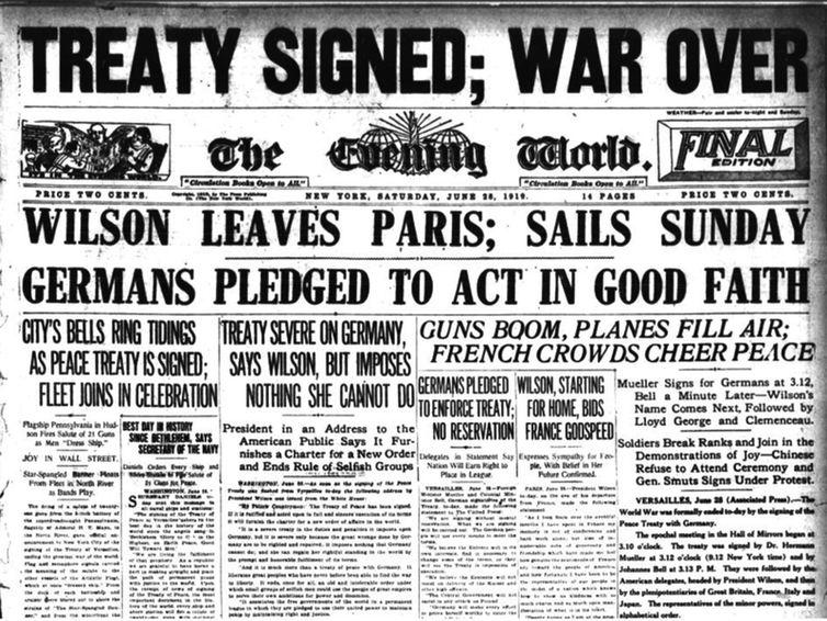 Φθινόπωρο του 1918: η καταιγίδα των