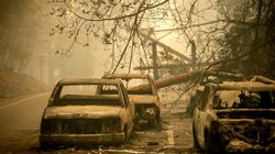 Death Toll In California Wildfires Rises As Homes Left