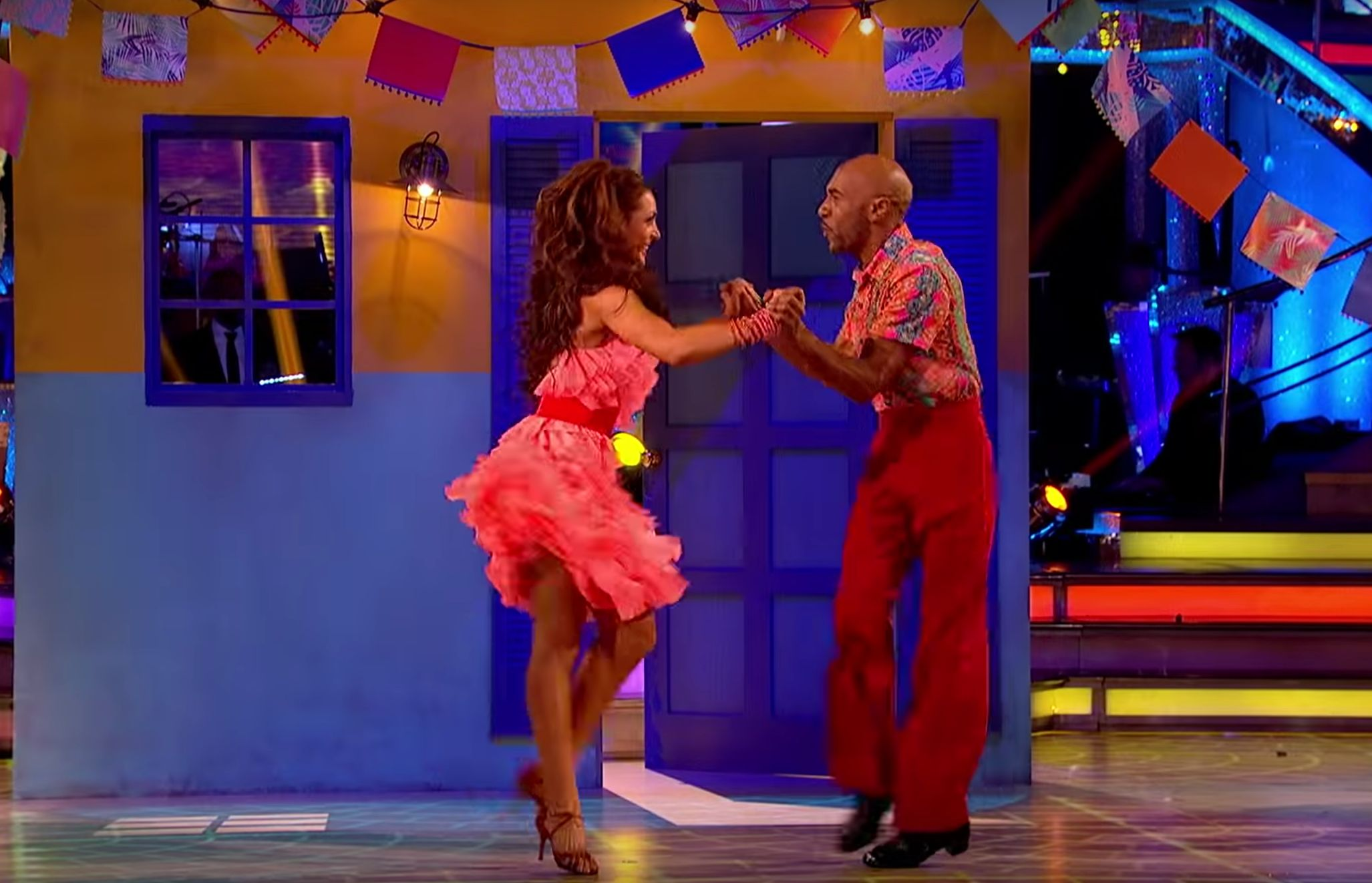 Danny John-Jules And Amy Dowden Are The Seventh Couple Eliminated From