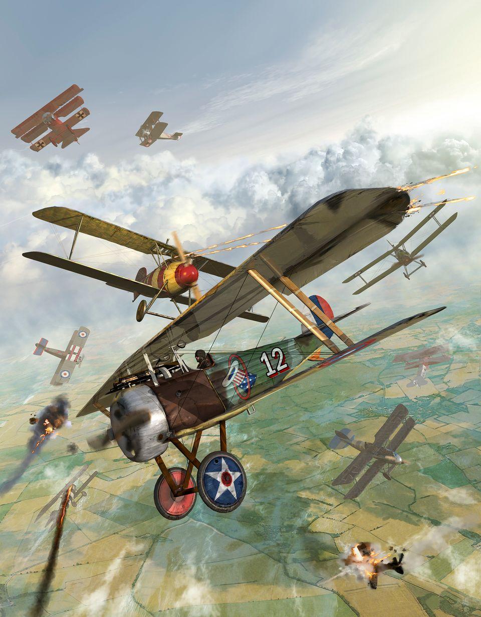 Αερομαχίες στον Α΄Παγκόσμιο