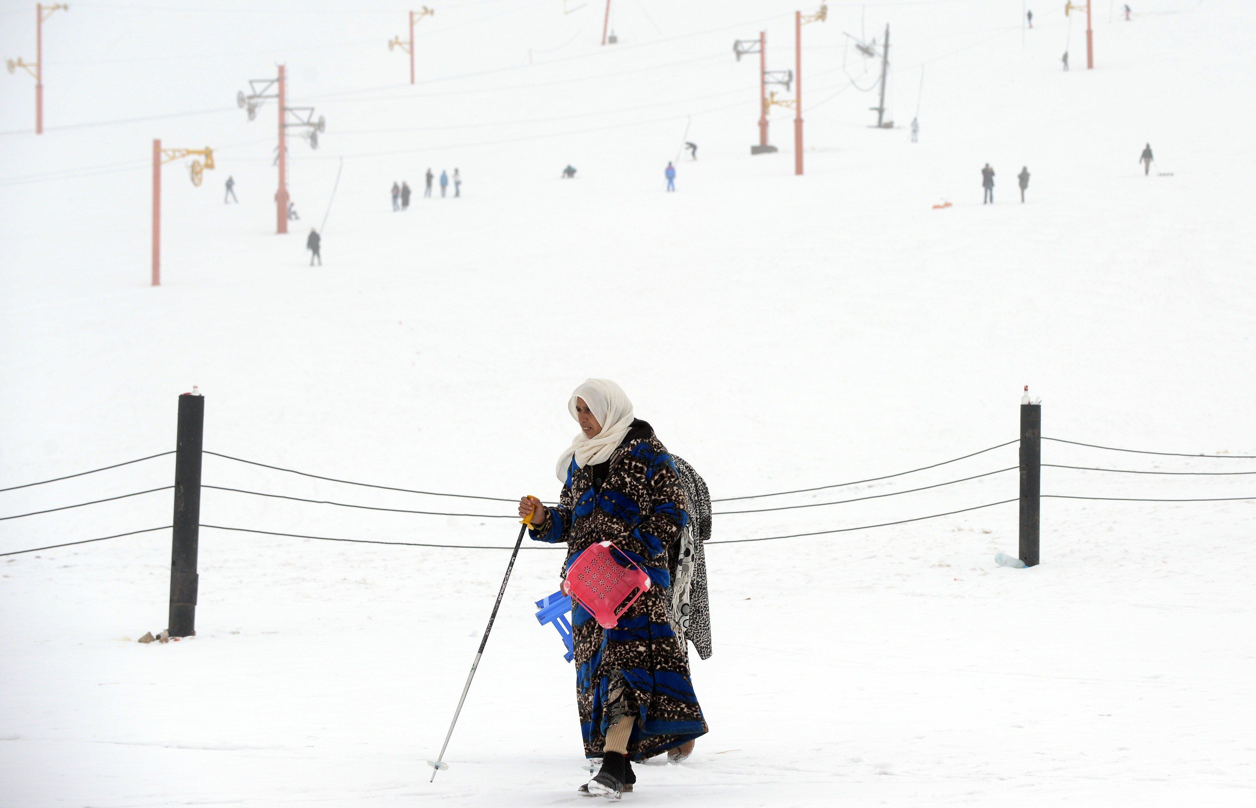 30 centimètres de neige attendus dans certaines régions du Maroc cette
