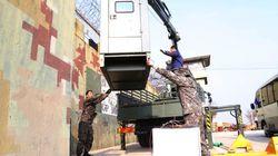 Les deux Corées commencent à détruire des postes de garde