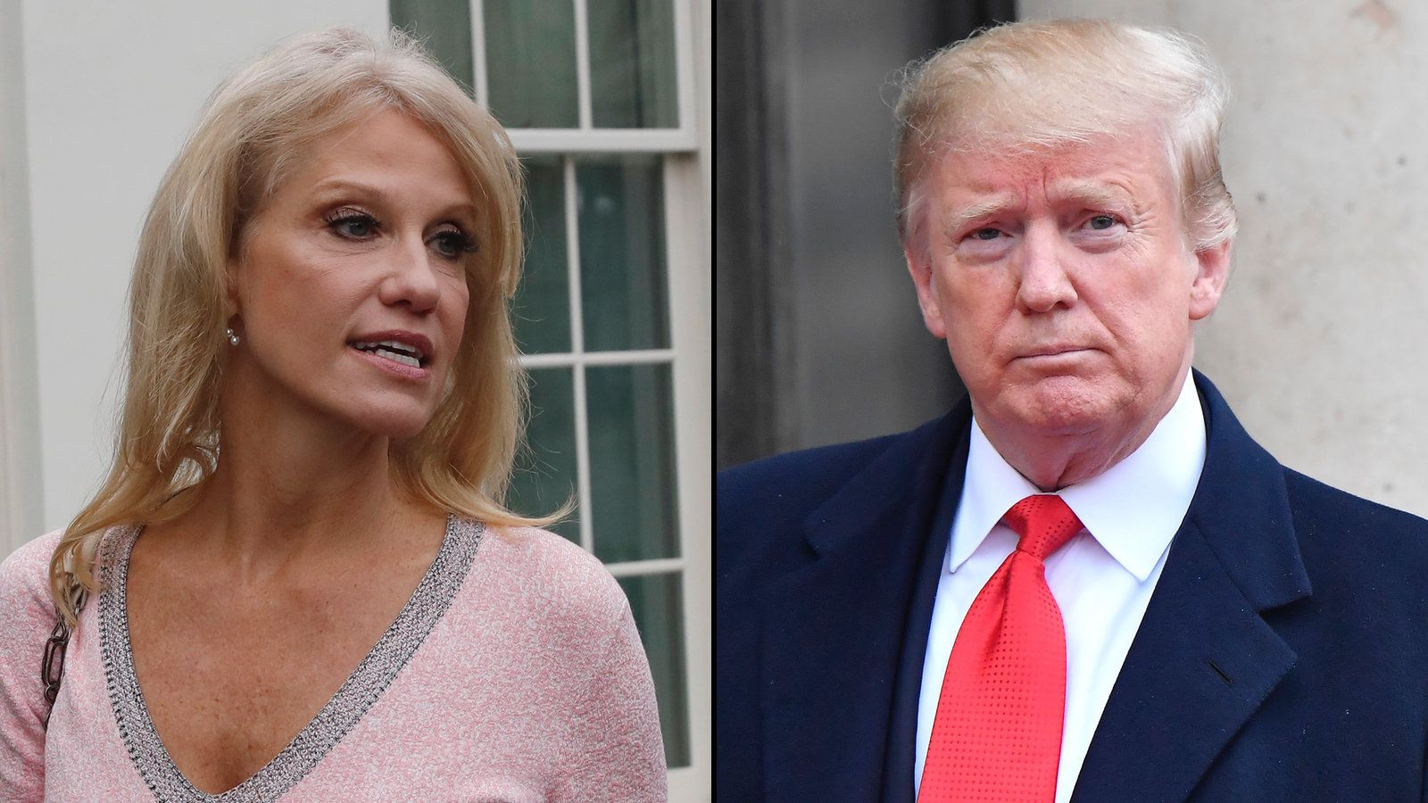 Trump Claims He Doesn't Know Matt Whitaker. That's Not What Kellyanne Conway Says. thumbnail