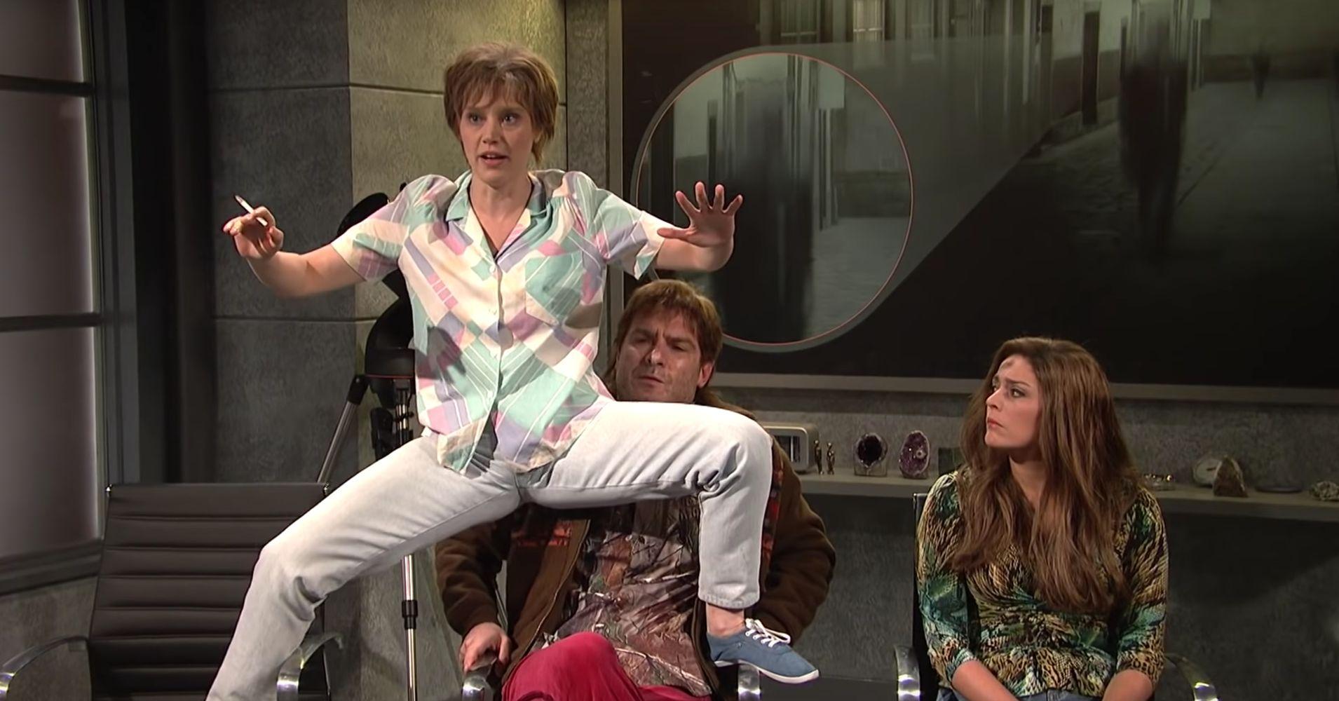 Kate McKinnon's Unlucky 'SNL' Alien Abduction Character ...