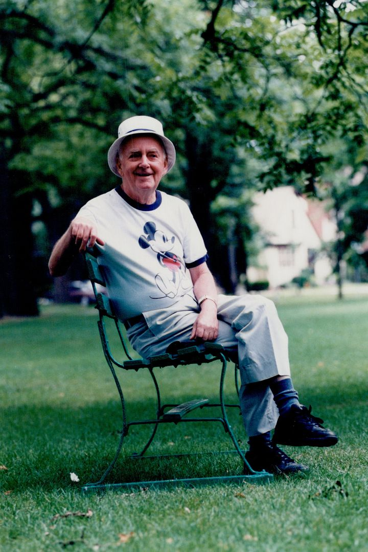 Douglas Rain in a 1998 photo.
