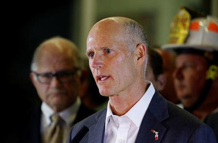 Florida Gov. Rick Scott, who is running for U.S. Senate, filed multiple lawsuits Sunday regarding the election.