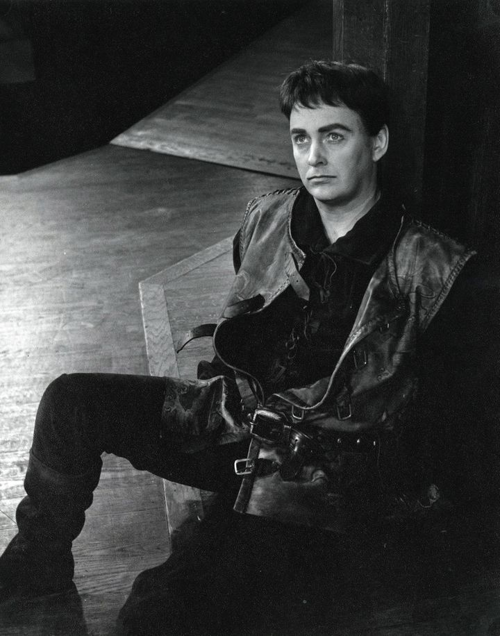 Douglas Rain as Henry V in the Stratford Festival's 1966 production of Henry V.