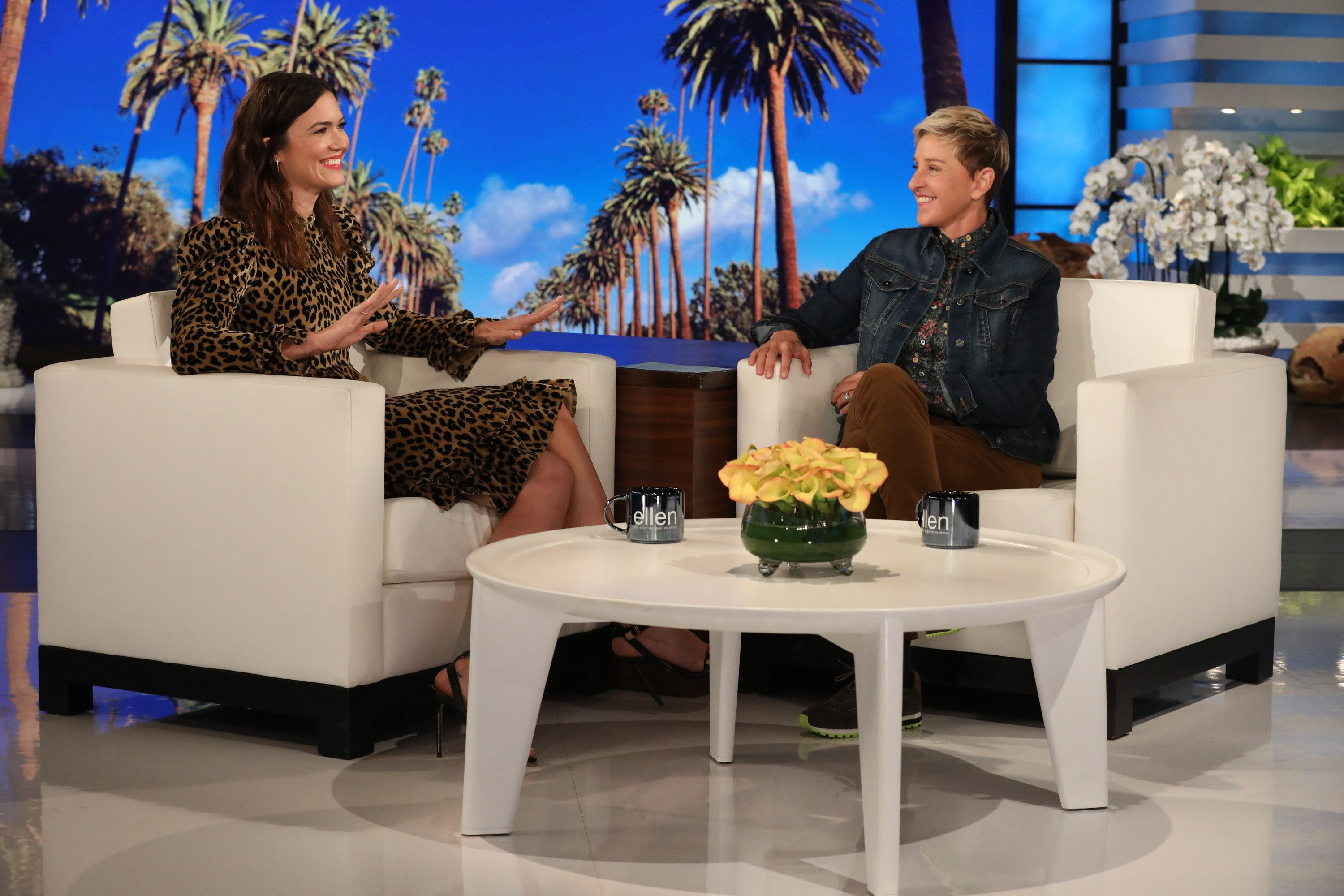 Mandy Moore Shares A Few Bucket List Items With Ellen