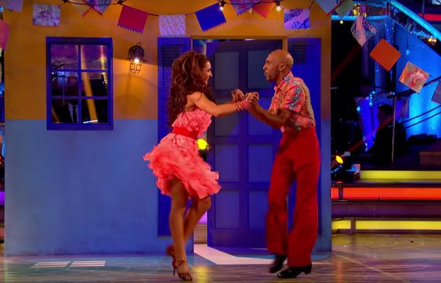 Danny danced his last dance on this weekend's 'Strictly' when his salsa failed to