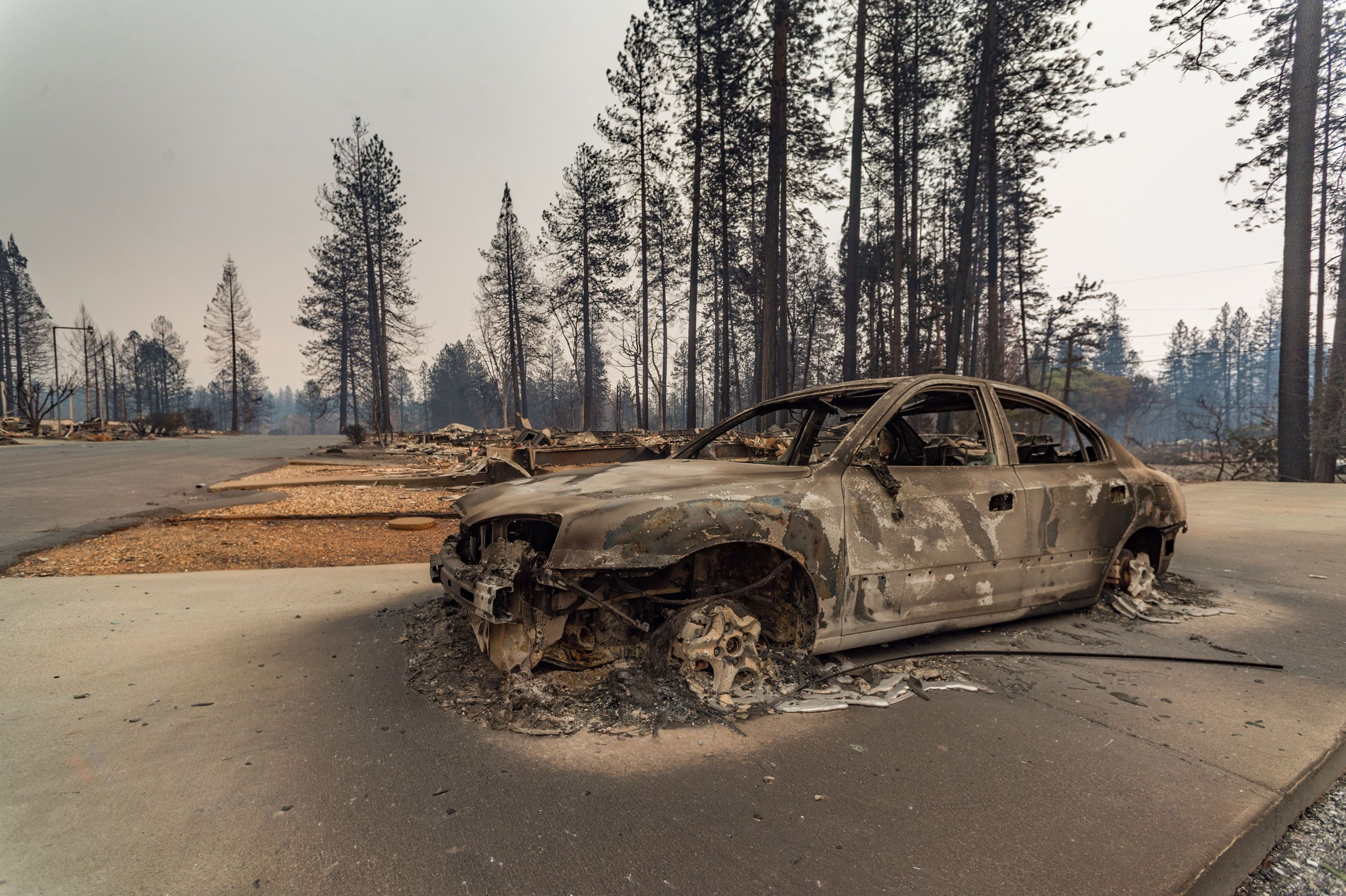31 Dead As California Wildfires Become Deadliest In State's