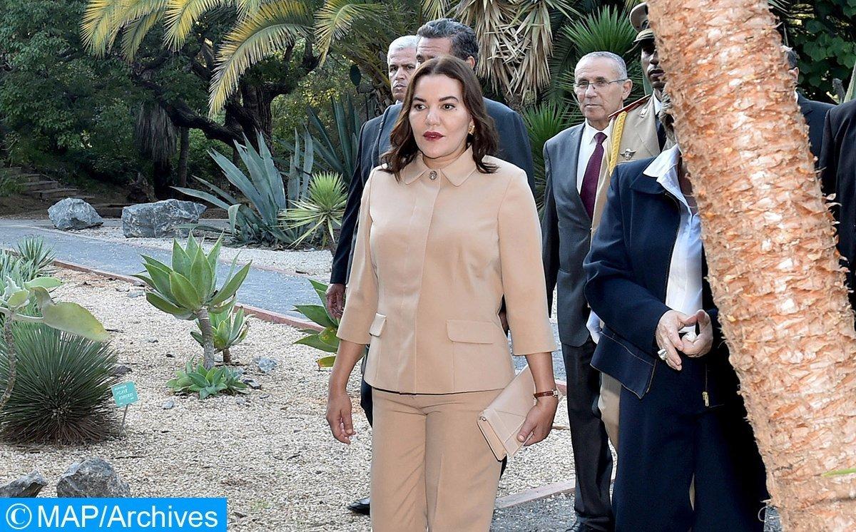 La princesse Lalla Hasnaa inaugure le Parc Hassan II de