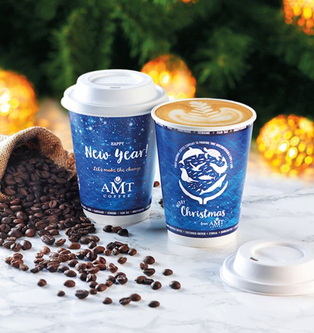 AMT Coffee Will Now Serve Your Drinks In Plastic-Free Compostable
