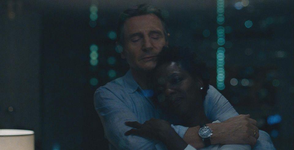 Liam Neeson and Viola Davis in