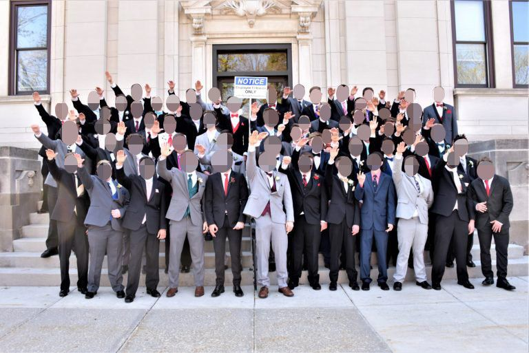 Wisconsin Excessive Faculty College students Seem To Give Nazi Salute In Junior Promenade Photograph