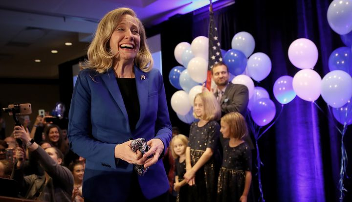 Abigail Spanberger won a marquee House race against Republican Dave Brat in Virginia while calling for a Medicare public opti