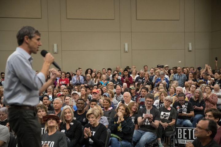 Beto O'Rourke performed better than any statewide Texas Democrat in decades by running as an unapologetic progressive.