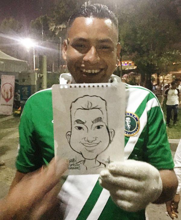 Osman, the barber.