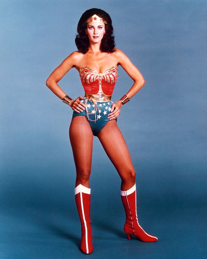 Carter portrayed Wonder Woman on TV in the 1970s.