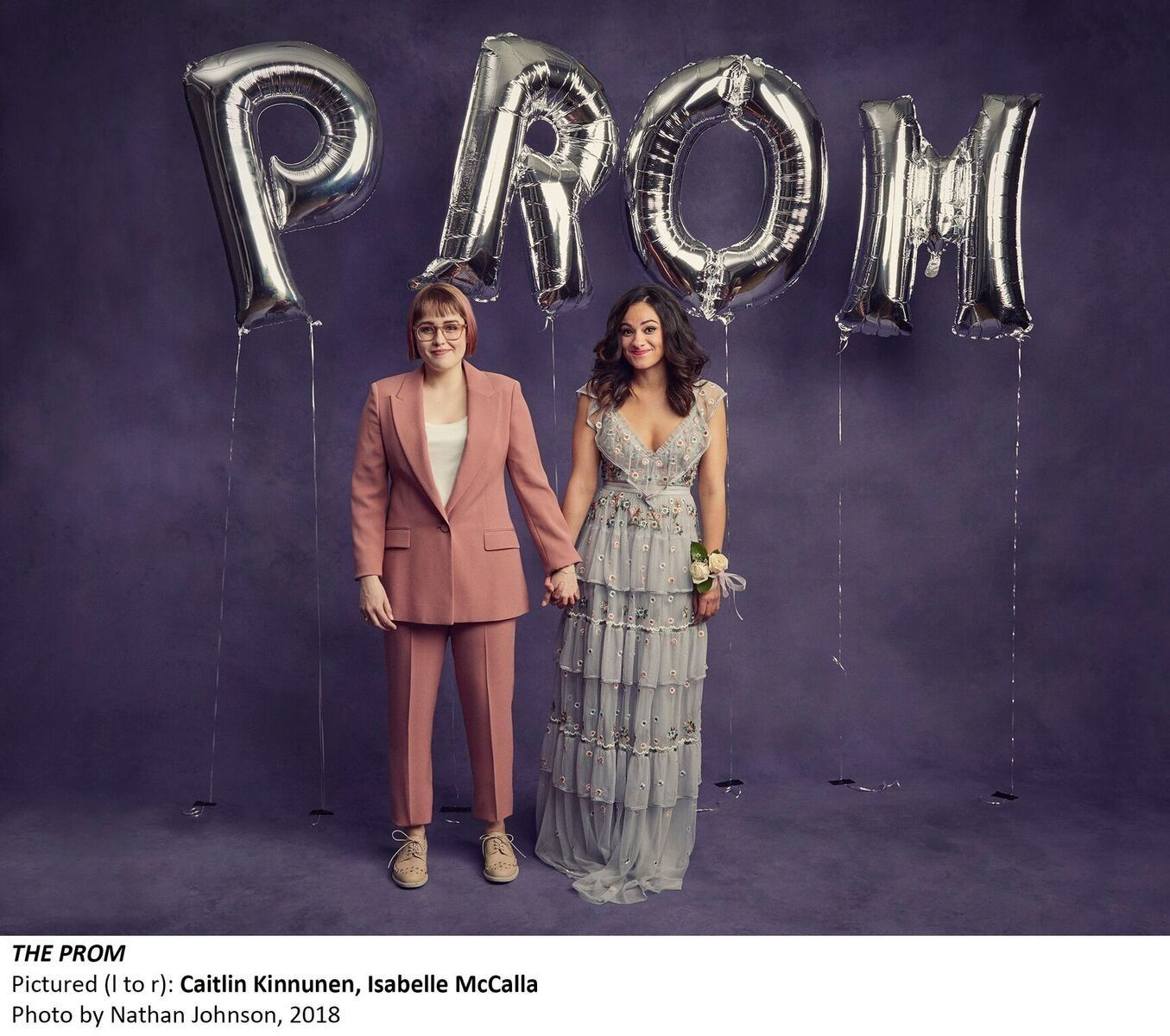 In 'The Prom,' A Gay Teen's Battle Comes To Broadway With Humor And