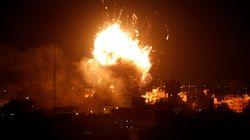 Ισραηλινά αεροσκάφη βομβάρδισαν τον τηλεοπτικό σταθμό της Χαμάς στη