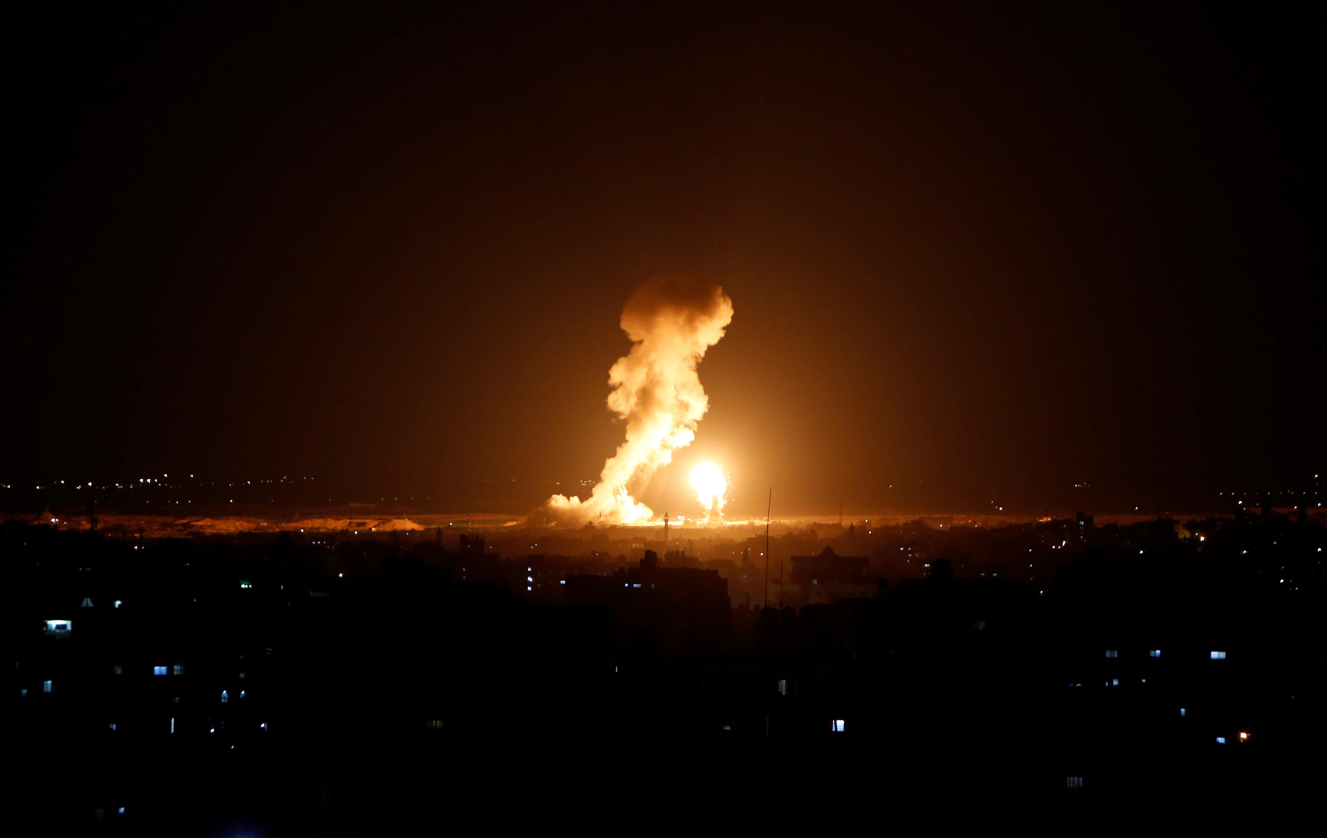 Armee: Rakete aus Gaza trifft Bus in Israel - Offenbar Verletzte
