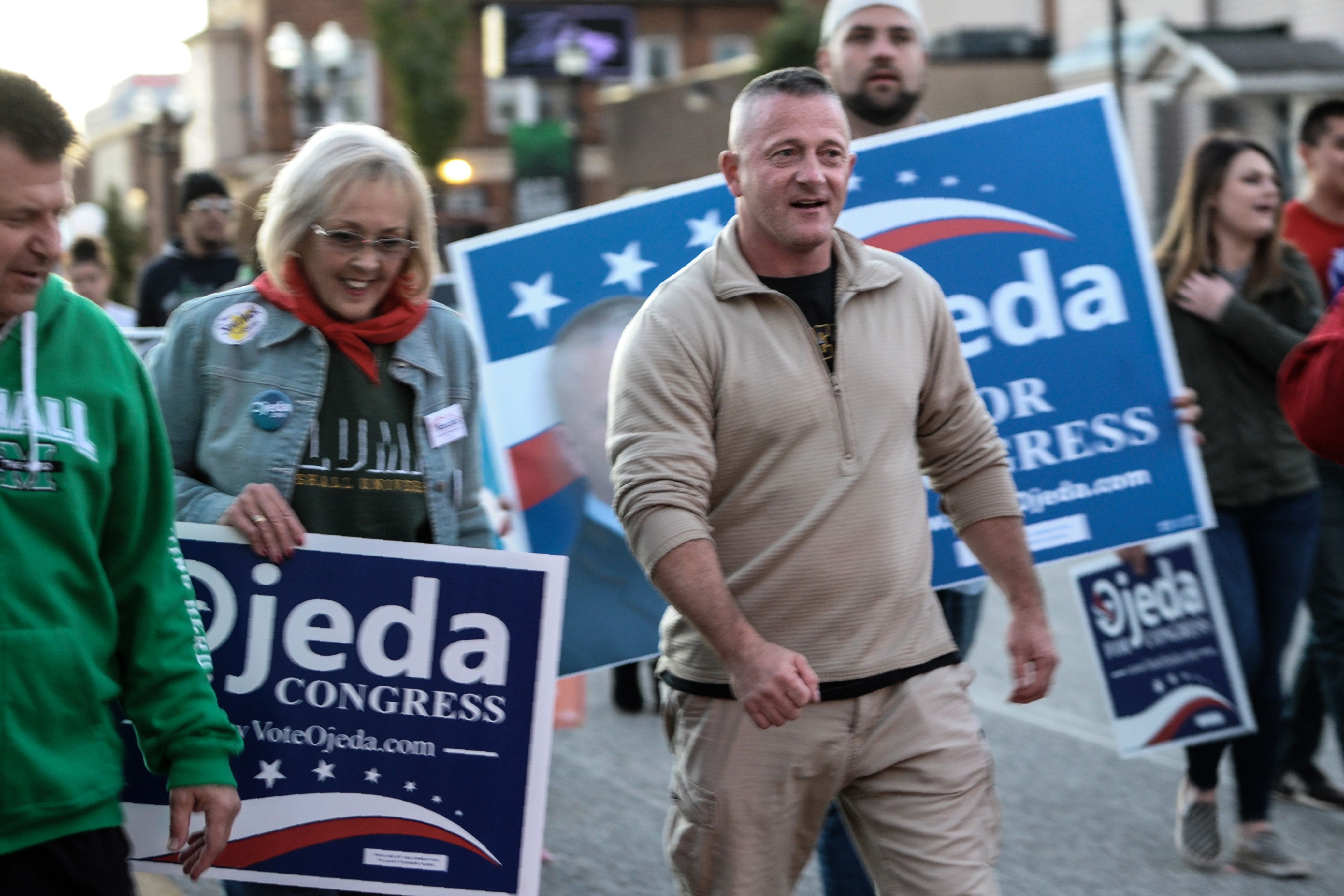 West Virginia state senator Richard Ojeda last week lost his congressional run to Republican Carol Miller, who was endorsed b
