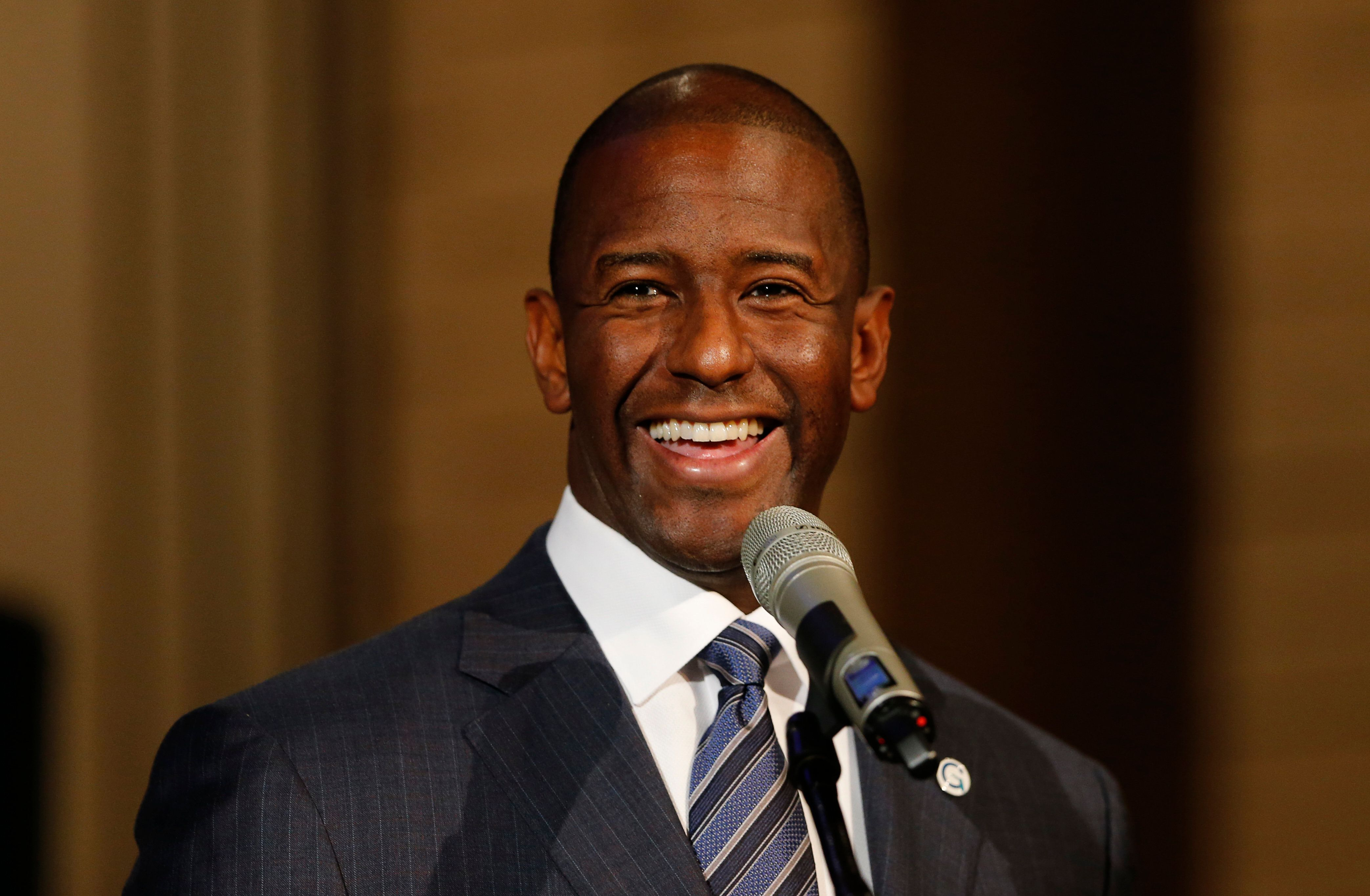Andrew Gillum Shreds Donald Trump With Just 3 Little