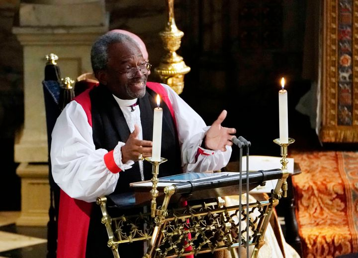 The Most Rev. Bishop Michael Curry is the presiding bishop of the Episcopal Church.