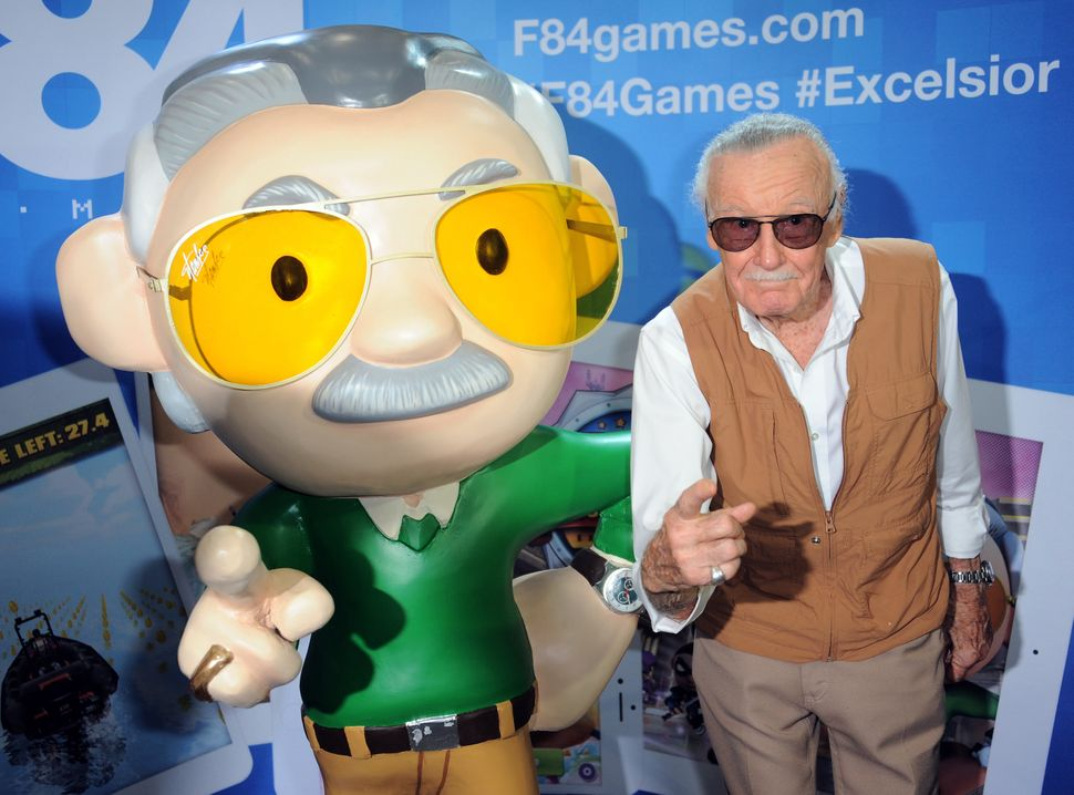 Stan Lee at Stan Lee's Comikaze Expo Day One held at the Los Angeles Convention Center on Nov. 1, 2015.