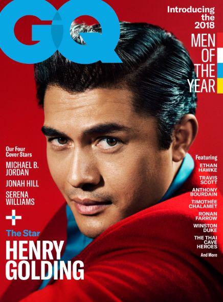 아시아인 최초로 GQ 매거진의 '올해의 남성'이 된 이