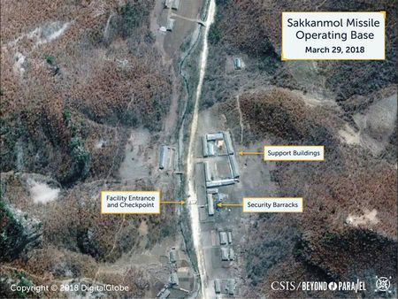 New Satellite Images Show Hidden North Korea Missile