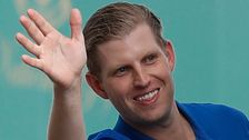 Eric Trump's Attempt To Hawk Christmas Ornaments Leads To Holiday Jeers