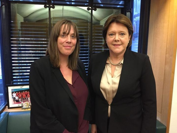 Jess Phillips and Maria Miller.