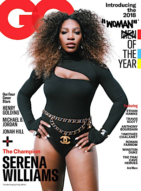 Serena Williams' GQ 'Woman Of The Year' Cover Sparks