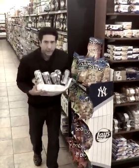 An Arrest Has Been Made In The David Schwimmer Beer Thief Lookalike