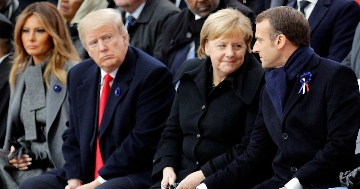 Donald Trump Brings Up Second World War In Bizarre Ongoing Spat With France