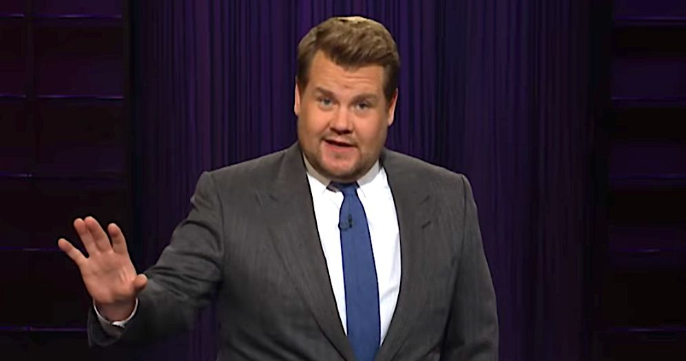 James Corden Completely Shreds Trumpy — The Bear And The Man