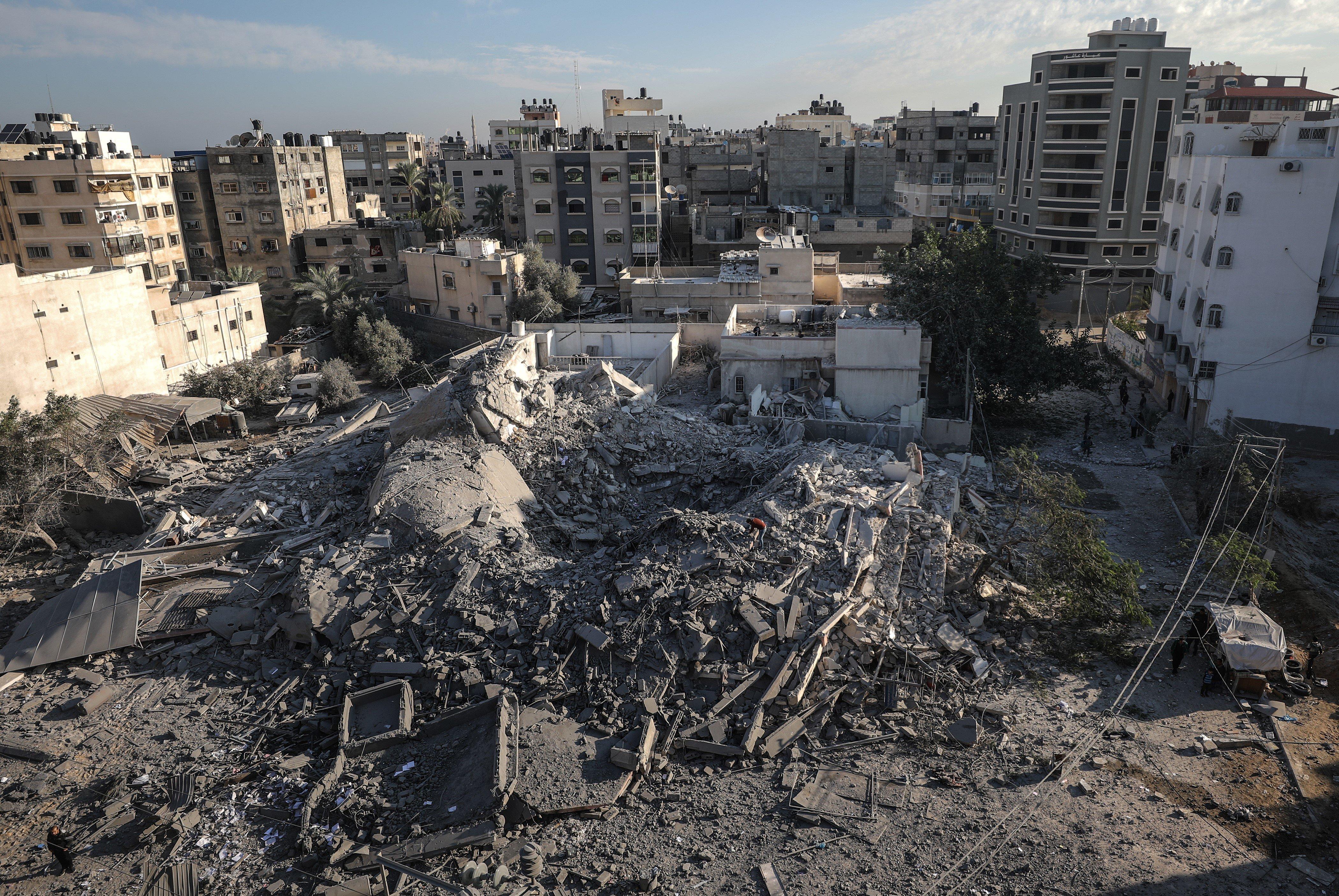 Gaza, territoire palestinien ravagé par les guerres et la