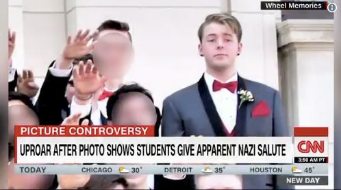 Wisconsin Pupil Speaks Out On Nazi Salute Promenade Photograph: 'It Was A Scary Second'