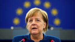 """Merkel wirbt im EU-Parlament für eine """"europäische Armee"""""""